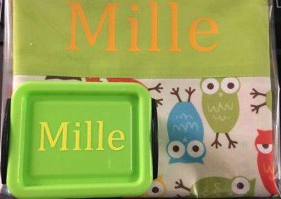 Bedrukte geboortegeschenkjes Mille
