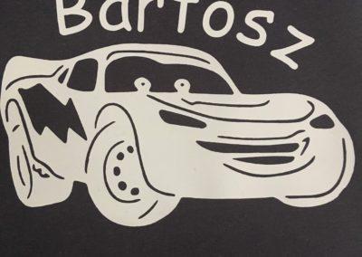 bedrukte t-shirt Bartosz