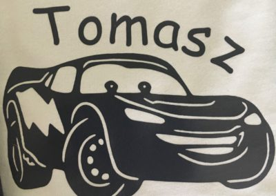 bedrukte t-shirt Thomasz