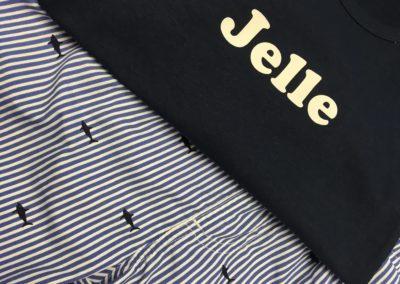 Bedrukte t-shirt Jelle