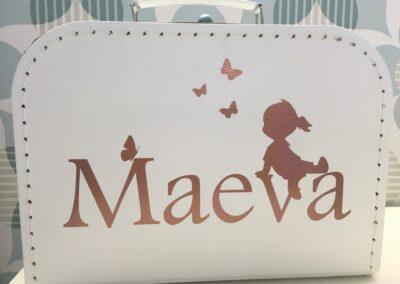 Koffertje voor Maeva