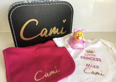 Geboortegeschenk Cami