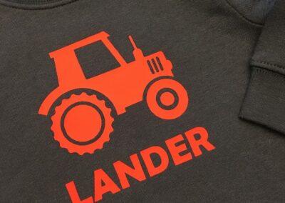Bedrukking tractor